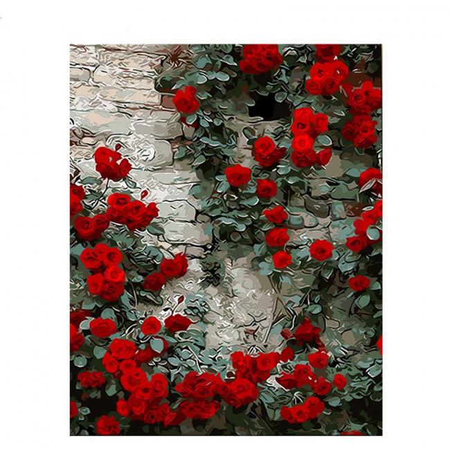 Kit pictura pe numere cu flori, Beauty