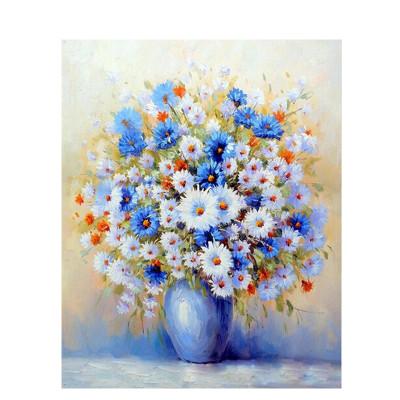 Kit pictura pe numere cu flori, Autumn flowers