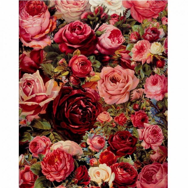 Kit pictura pe numere cu flori, Dancing Flowers