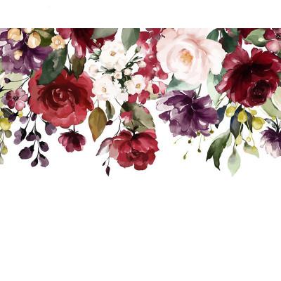 Kit pictura pe numere cu flori, DTP2053
