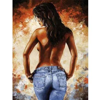 Kit pictura pe numere cu oameni, Seductive Woman