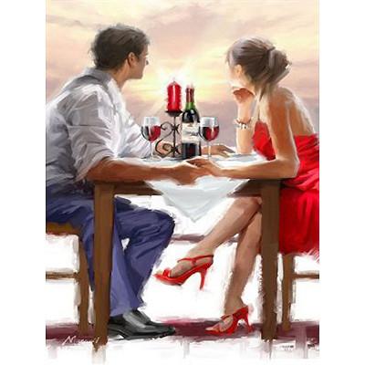 Kit pictura pe numere cu oameni, Couple in Love