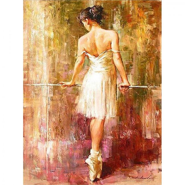 Kit pictura pe numere cu oameni, Beautiful Ballerina