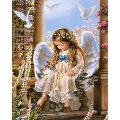 Kit pictura pe numere cu religioase, Heavenly