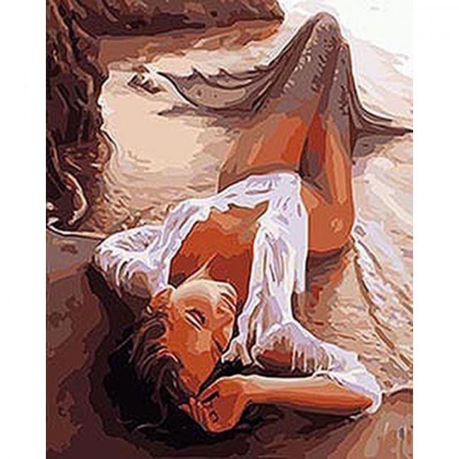 Kit pictura pe numere cu oameni, Sexy Female