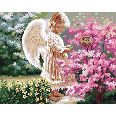 Kit pictura pe numere cu religioase, Lil'Angel