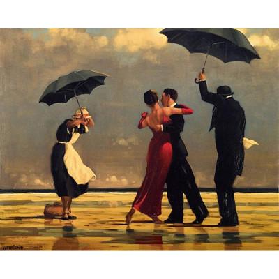 Kit pictura pe numere cu oameni, Dancing in the Rain
