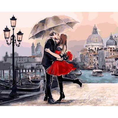 Kit pictura pe numere cu oameni, Midnight in Venice