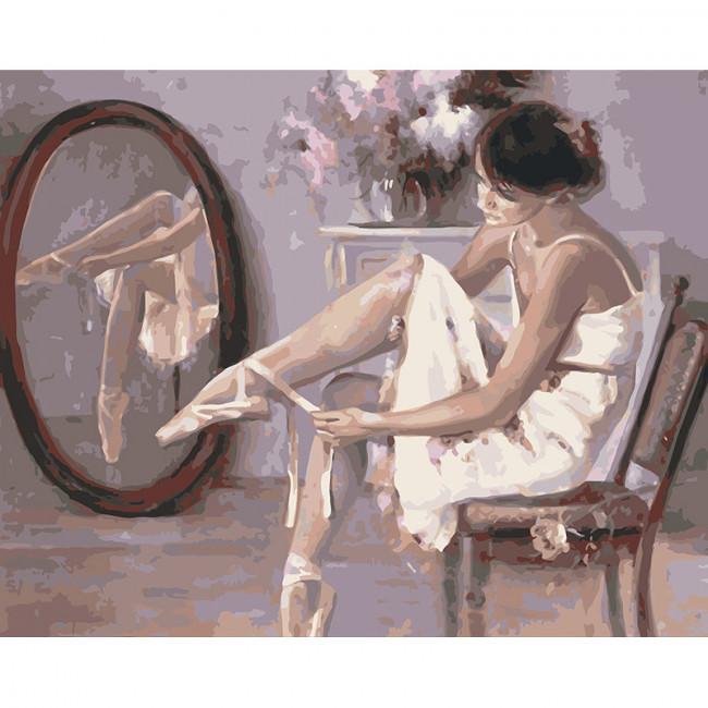 Kit pictura pe numere cu oameni, Silk and Sweat
