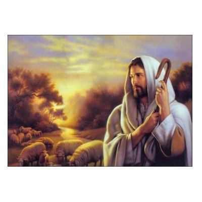 Kit pictura pe numere cu religioase, Shepherd of Souls