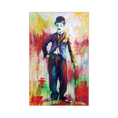 Kit pictura pe numere cu oameni , Chaplin's Laughter Against Dictators