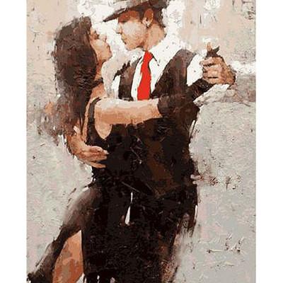 Kit pictura pe numere cu oameni, Dance with her