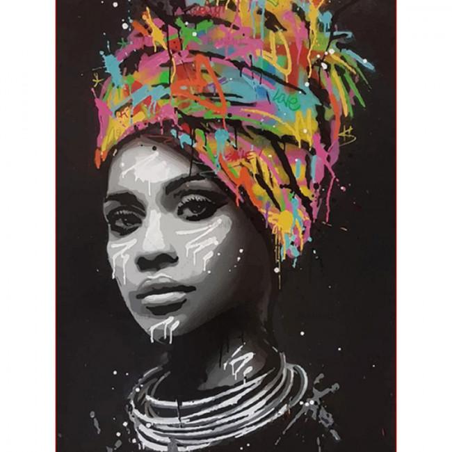 Kit pictura pe numere cu oameni, Black thoughts