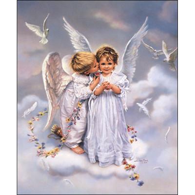 Kit pictura pe numere cu religioase, Angels