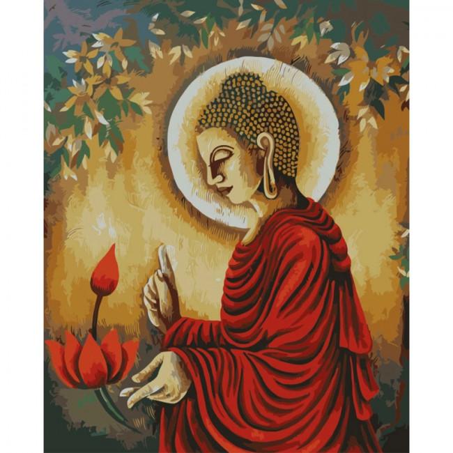 Kit pictura pe numere religioase, DZ3180