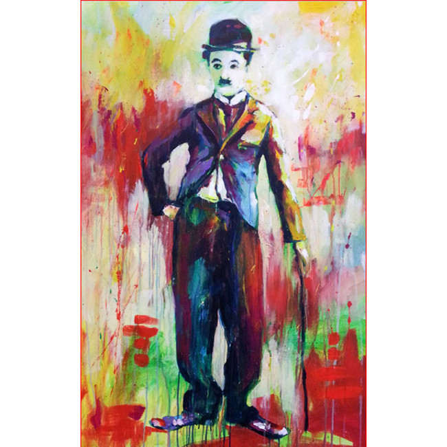 Kit pictura pe numere cu picturi si personalitati celebre, MDZ1526