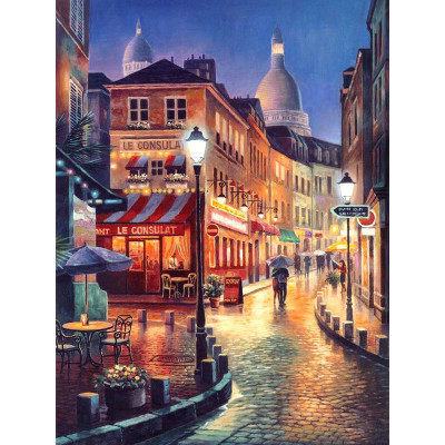 Kit pictura pe numere cu orase, Une Rue Magnifique