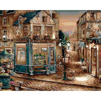 Kit pictura pe numere cu orase, Perfect Streets