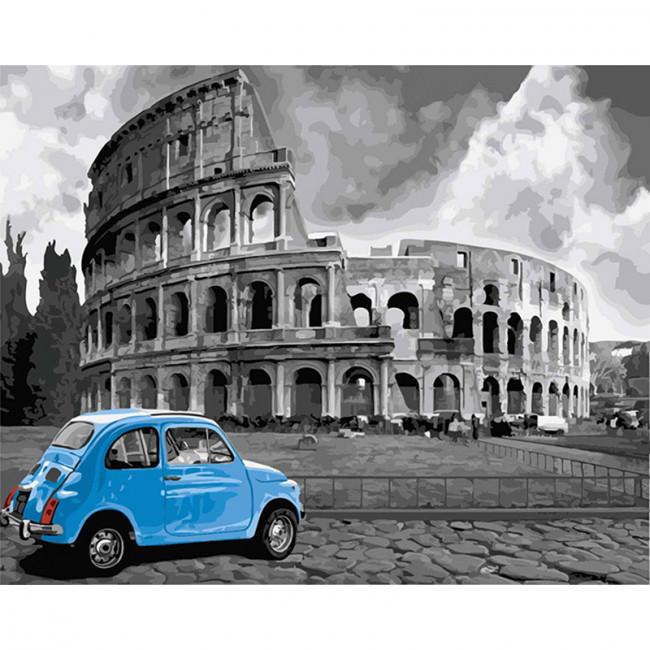 Kit pictura pe numere cu orase, The Splendid Colosseum