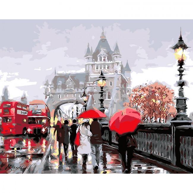 Kit pictura pe numere cu orase, London Weather