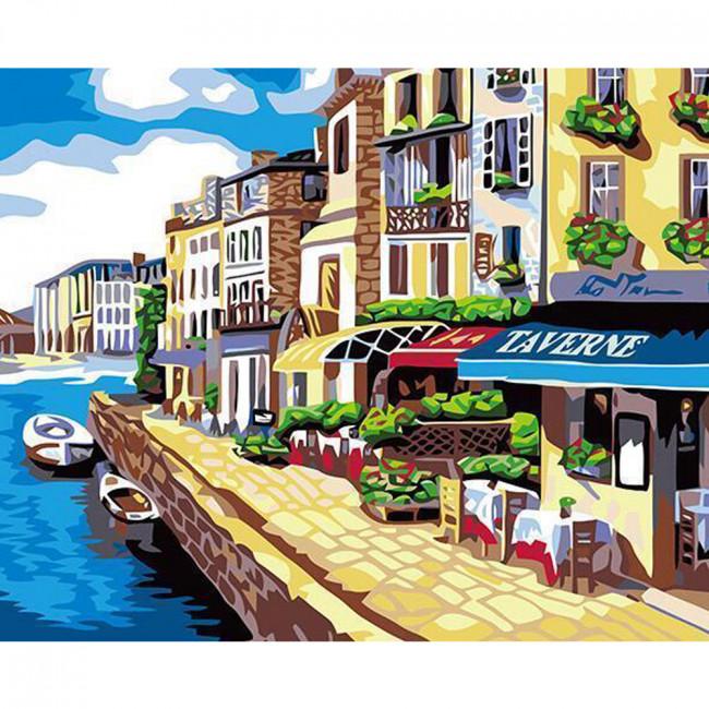 Kit pictura pe numere cu orase, DTP2632