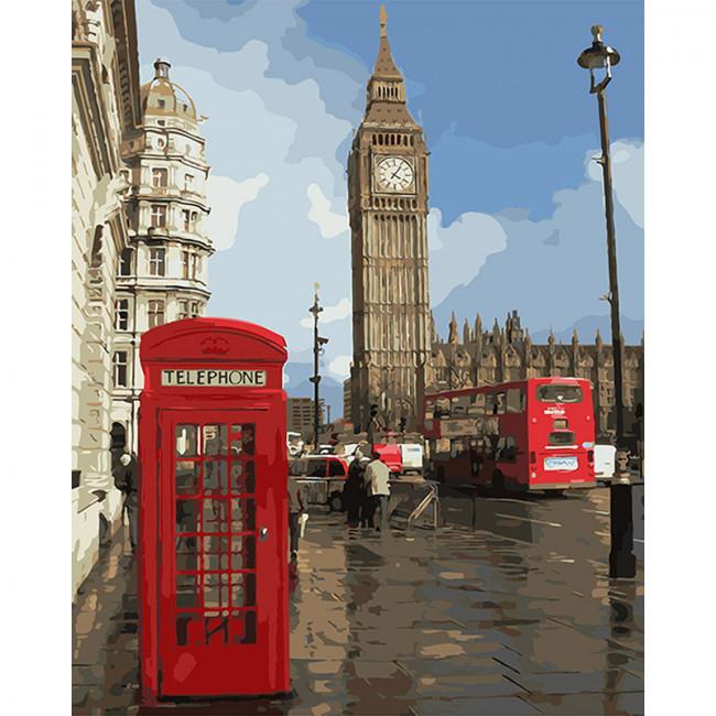 Kit pictura pe numere cu orase, The Delightful Big Ben