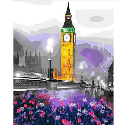 Kit pictura pe numere cu orase, Big Ben