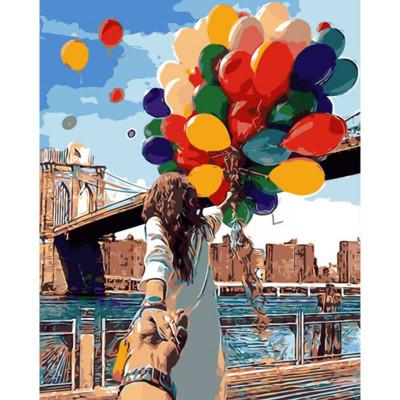 Kit pictura pe numere cu orase, Livind the best life together