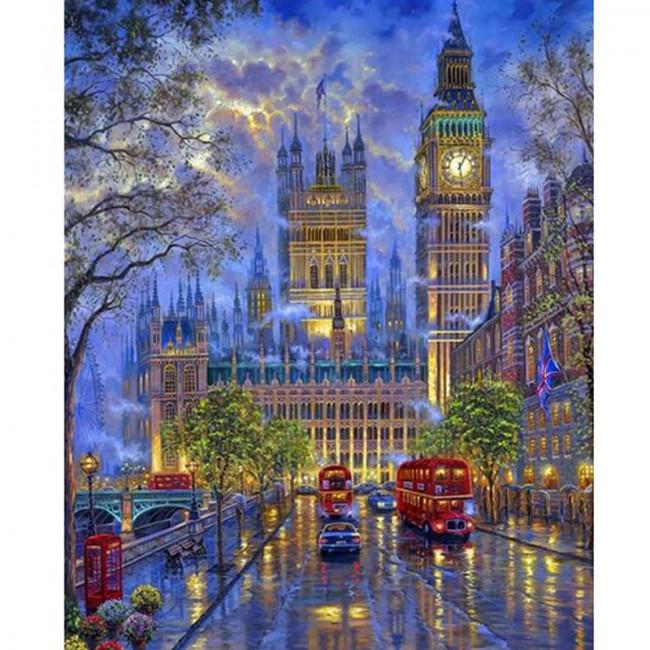 Kit pictura pe numere cu orase, London