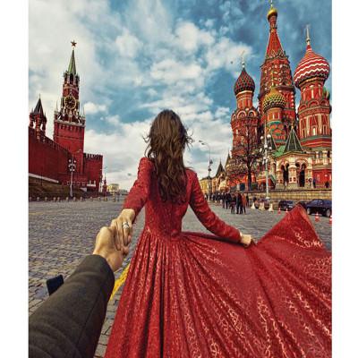 Kit pictura pe numere cu orase, Perfect honeymoon