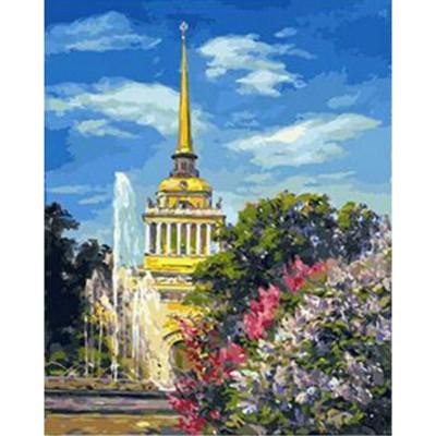 Kit pictura pe numere cu orase, DTP926