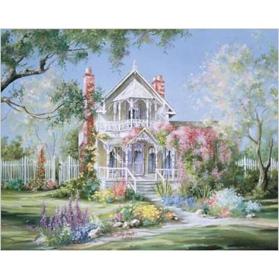 Kit pictura pe numere cu peisaje, Paradise