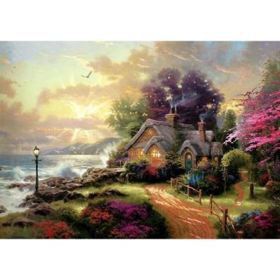 Kit pictura pe numere cu peisaje, Summer House