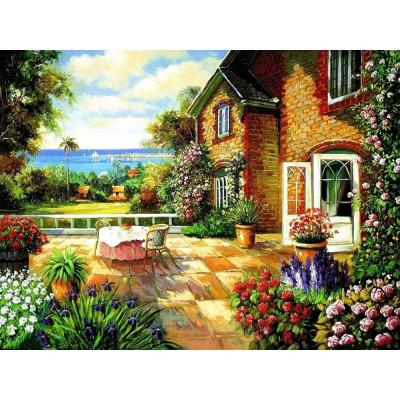 Kit pictura pe numere cu peisaje, DTP2446