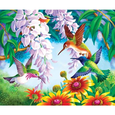 Kit pictura pe numere cu peisaje, DTP2454
