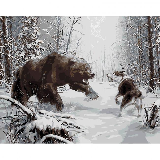 Kit pictura pe numere cu iarna, Ultimate Encounter