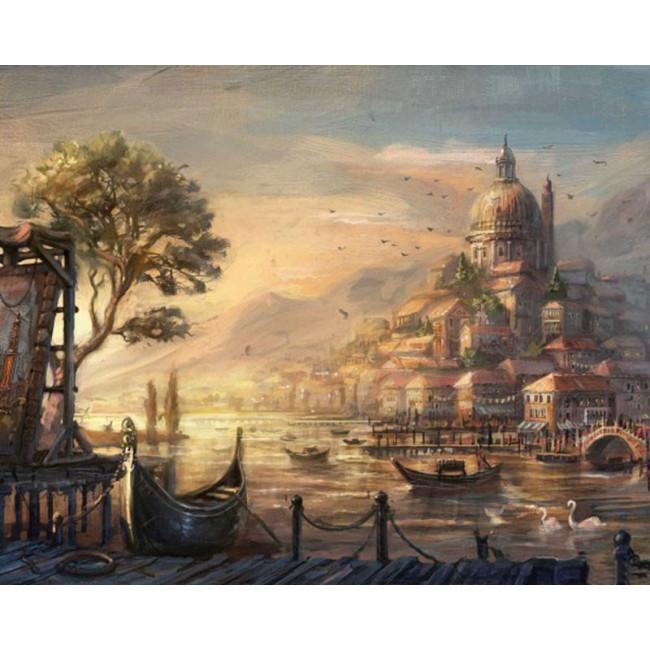Kit pictura pe numere cu peisaje, The Province of Arcadia