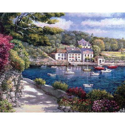 Kit pictura pe numere cu peisaje, Memories of a Greek Summer
