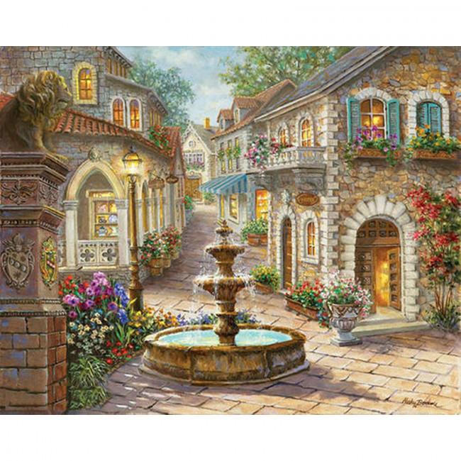 Kit pictura pe numere cu peisaje, Taste of Italy