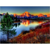 Kit pictura pe numere cu peisaje, Beautiful Scene Nature