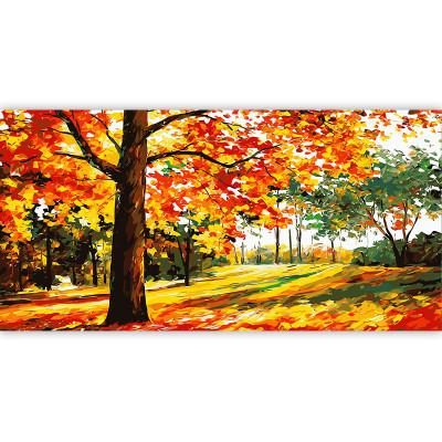 Kit pictura pe numere cu peisaje, Filtering Sunlight