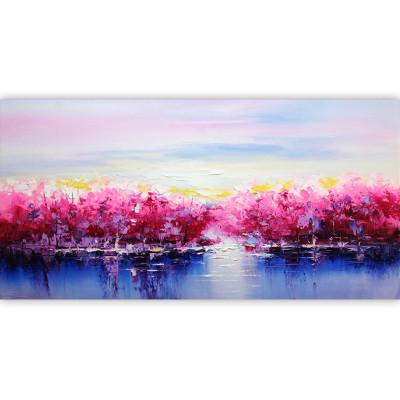 Kit pictura pe numere cu peisaje, Pond of Legends