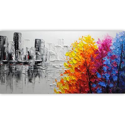 Kit pictura pe numere cu peisaje, A Drop of Color