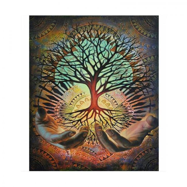 Kit pictura pe numere cu peisaje, Mandala of Becoming