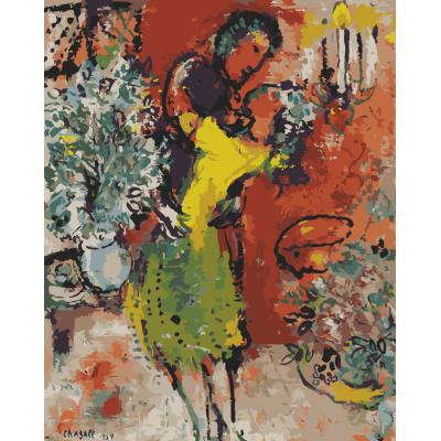 Kit pictura pe numere cu picturi si personalitati celebre, NDTP-270