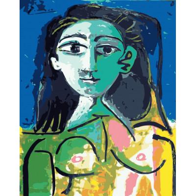 Kit pictura pe numere cu picturi si personalitati celebre, NDTP-437