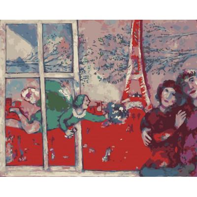 Kit pictura pe numere cu picturi si personalitati celebre, NDTP-476