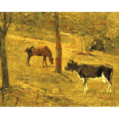Kit pictura pe numere cu picturi si personalitati celebre, NDTP-618