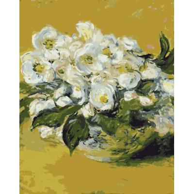 Kit pictura pe numere cu flori, NDTP-789