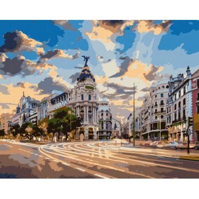 Kit pictura pe numere cu orase, NDTP-922